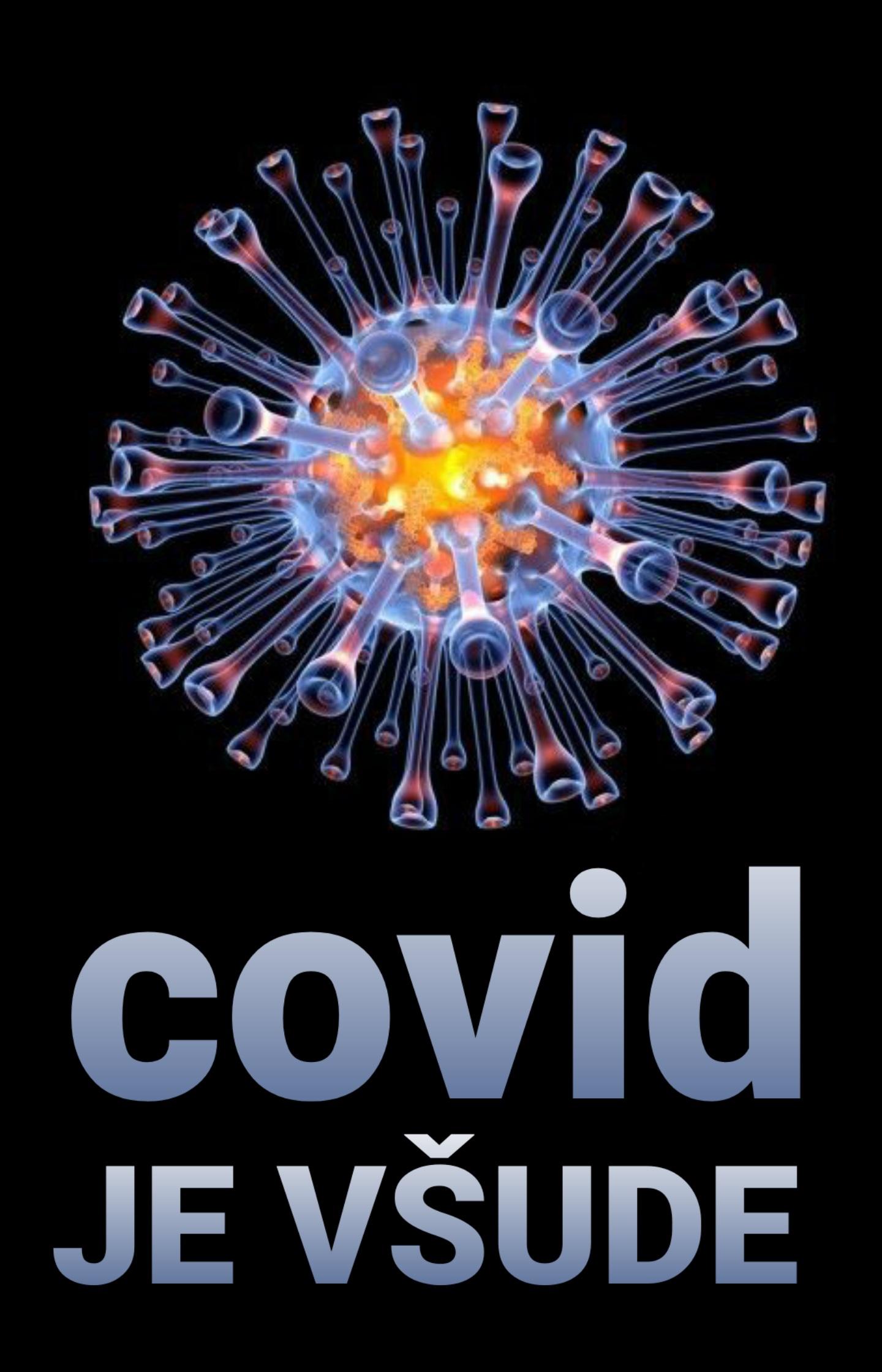 Covid-19 je všude