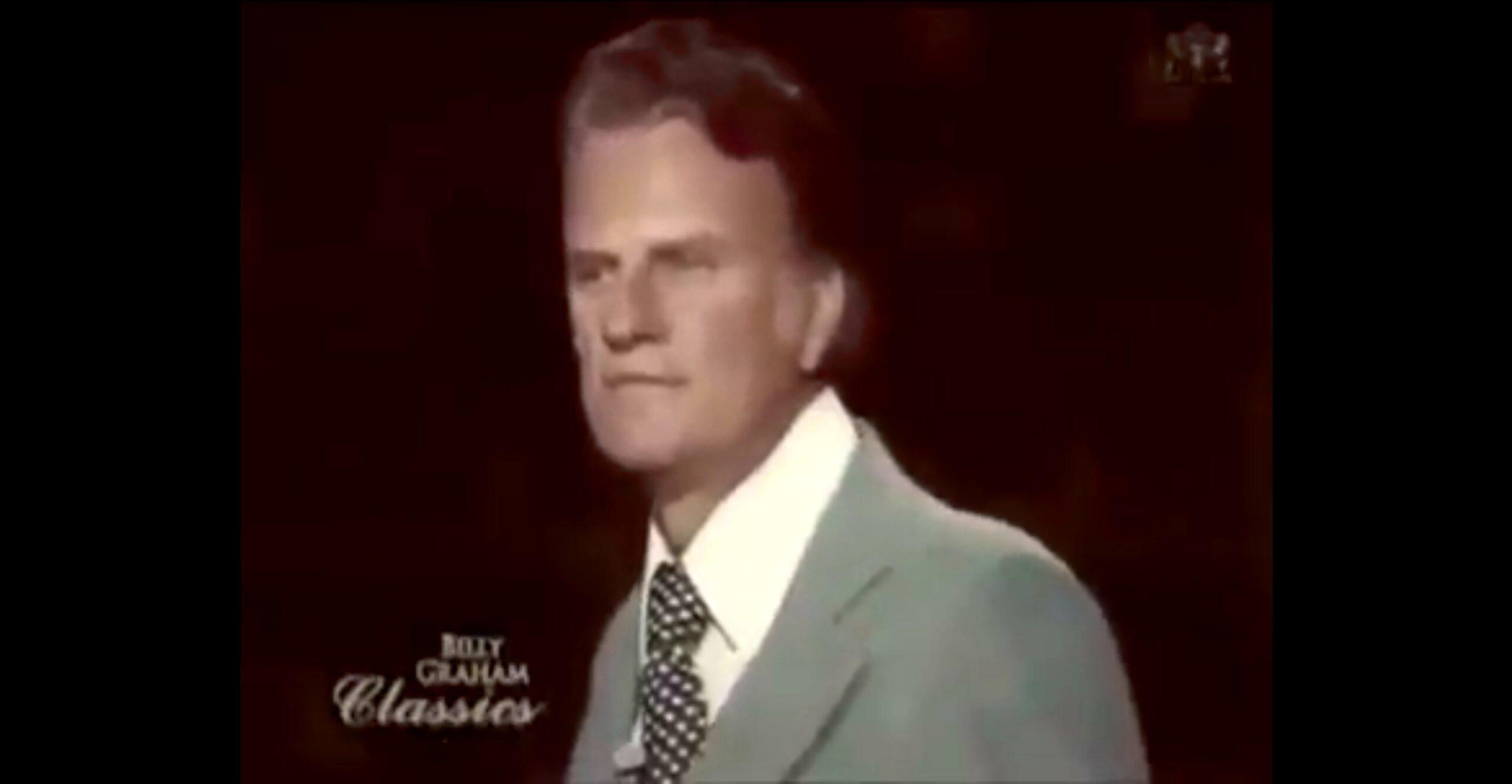 Billy Graham: Bůh koná své dílo!