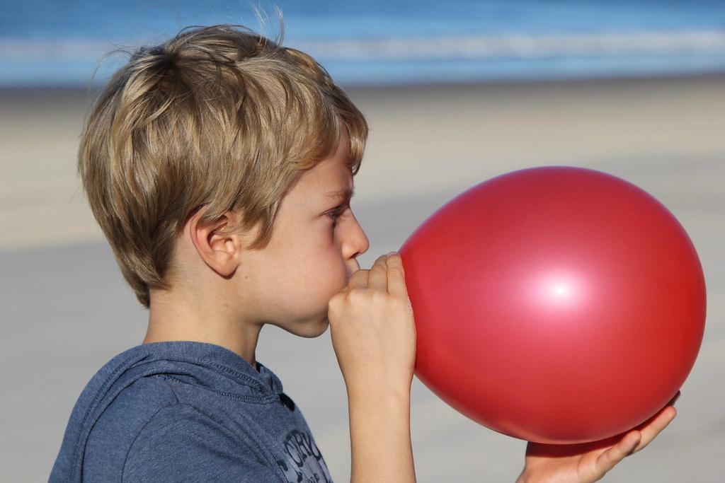 Laboratoř a Bible: 1. Nafoukni balónek