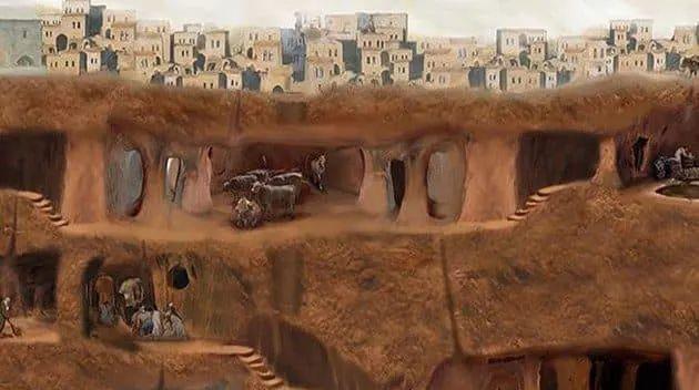 Střípky z historie: 13. Křestané v podzemí v Kappadokii – 10. stol.