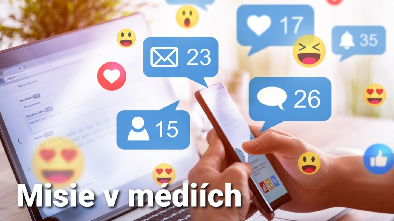 Misie: 5 důvodů, proč být v sociálních médiích