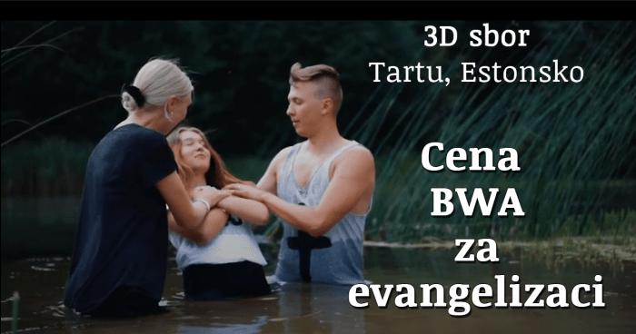 Cena BWA za evangelizaci byla udělena 3D sboru