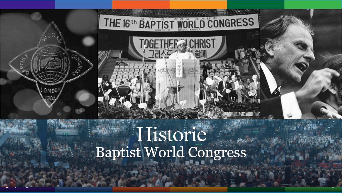 Historie: Světové kongresy BWA 1905 – 2021