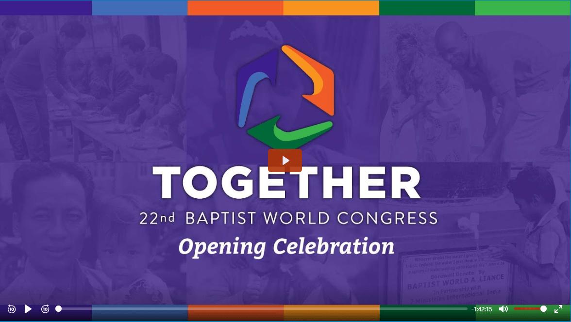 TV 4YOU: 22. kongres BWA – Slavnostní zahajovací shromáždění