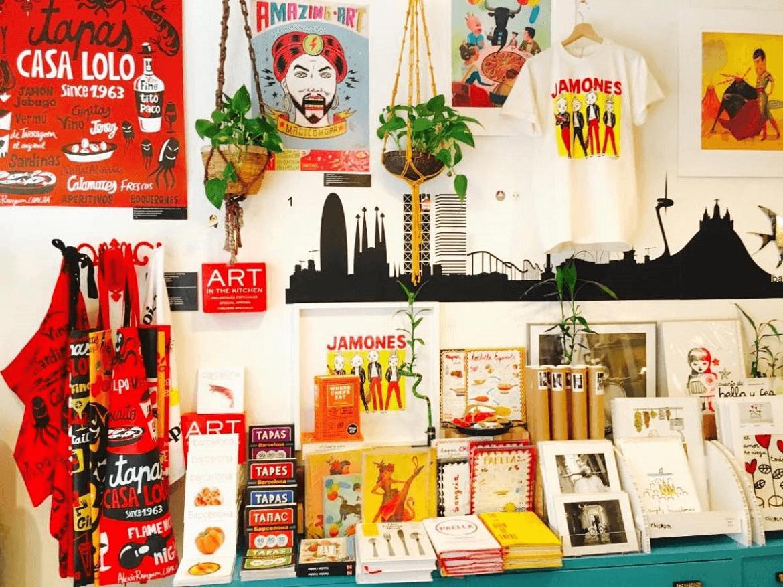 tienda souvenirs wawas barcelona