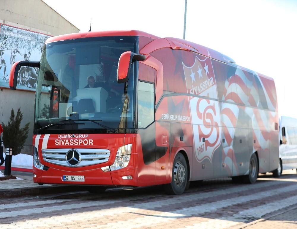 Sivasspor, Ankara'ya gitti