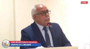 Sivas Belediyesi Meclisinde istifa