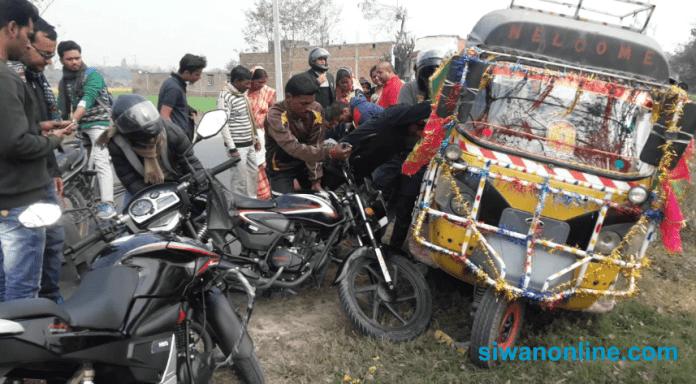 accident in mairwa