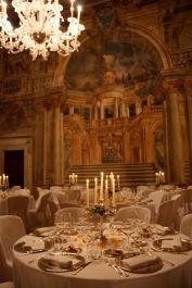 serata di gala a palazzo