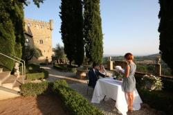 matrimonio in un castello