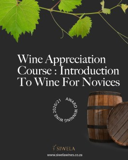 Wine  Appreciation Course : Introduction To Wine For Novices
