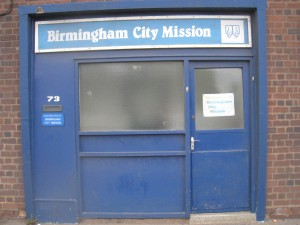 Birmingham City Mission - Front Door