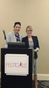 Dr. Katherine Williams and Kelly Brewster Speaking Engagement at Festigals
