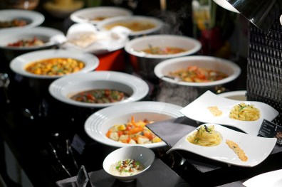 Black Italian Truffles at Conrad Centennial Singapore Oscar's - Buffet Spread 2