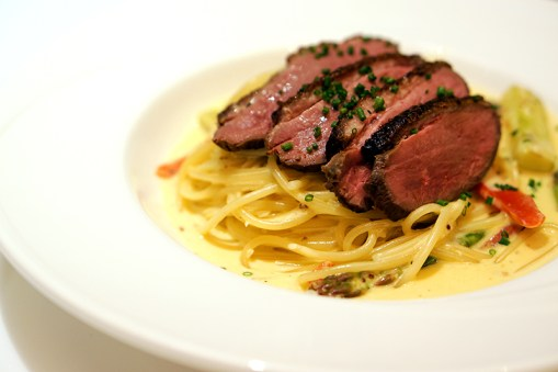 Dazzling Cafe Singapore, Capitol Piazza - Pan-seared Duck Breast Spaghetti