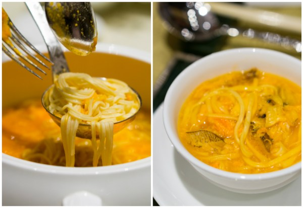 Chinese New Year 2017 at Li Bai, Sheraton Towers Singapore - Ee-fu Noodles with Crab Meat and Crab Roe Soup