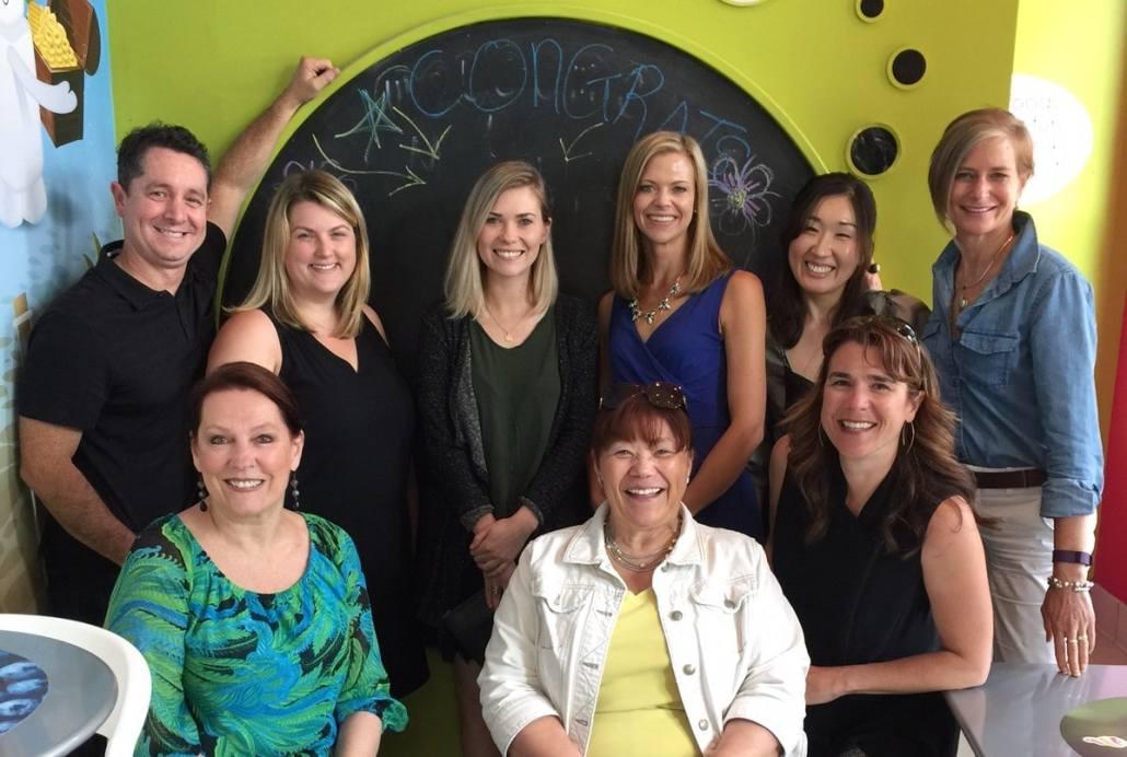 Six Walls team Celebrates Madeline