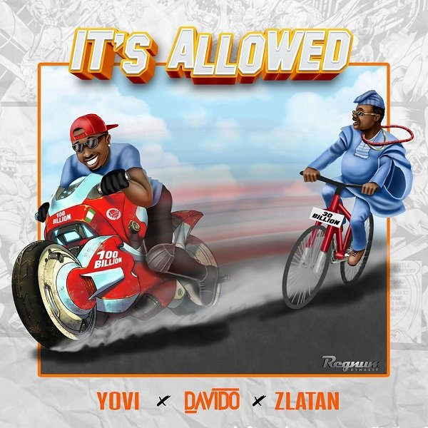 It's Allowed by Yovi, Davido & Zlatan Mp3 Download