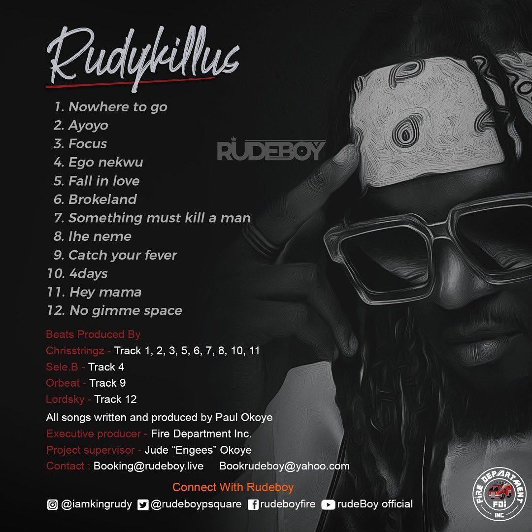 Rudeboy Rudykillus Album Mp3 Download