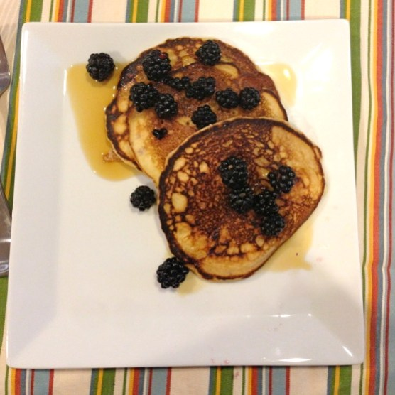 Blackberry Pancakes from scratch | Six at 6