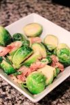 Brussels Sprouts with Creamy Dijon Sauce from Sixat6