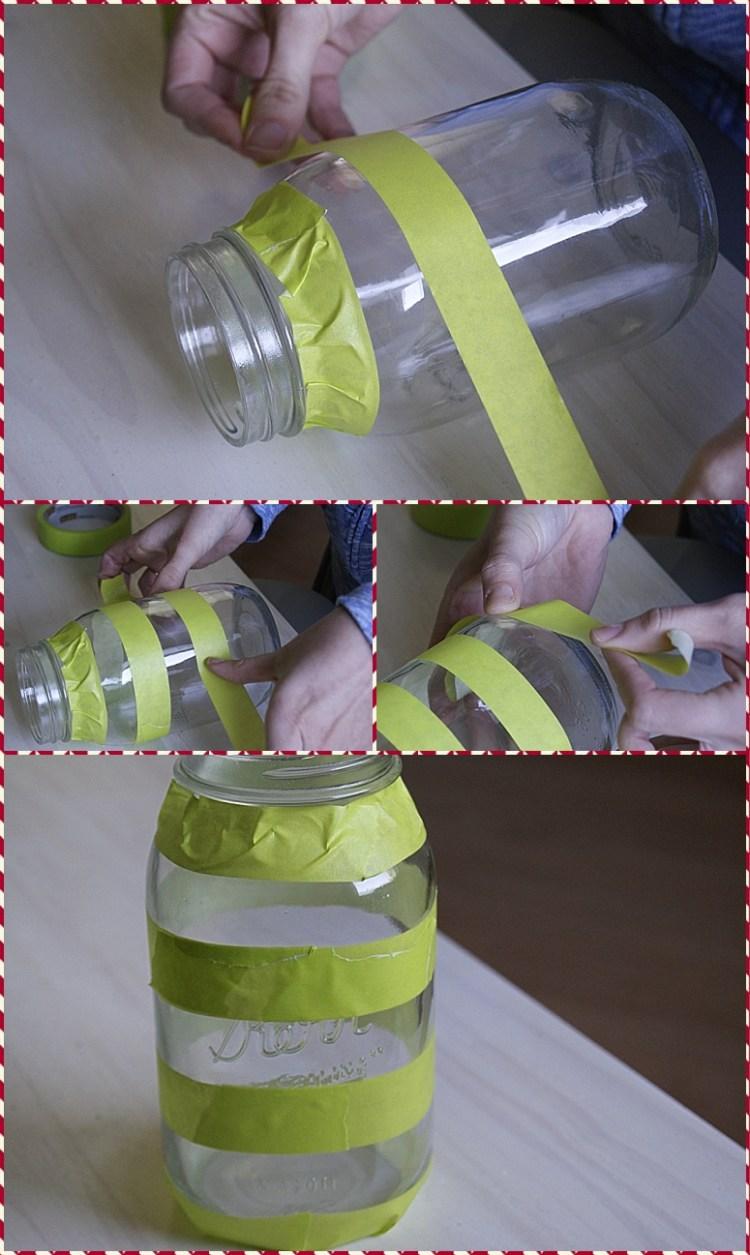 star & stripes mason jars