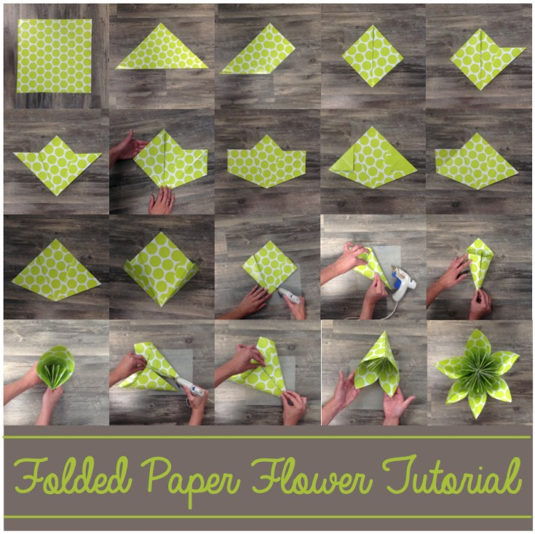 How To Make An Origami Lotus Flower - Folding Instructions ... | 749x750