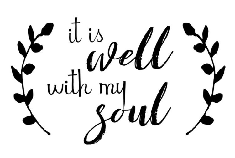 It Is Well Printable 5x7