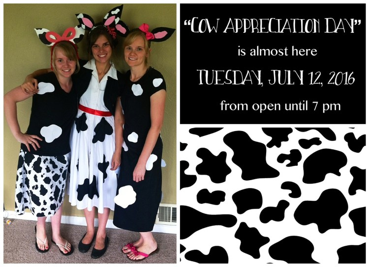 Chick Fil As Cow Appreciation Day Idea With Free Printable Ears Pattern