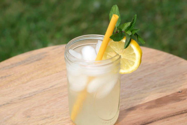 Ginger Mint Lemonade recipe six clever sisters