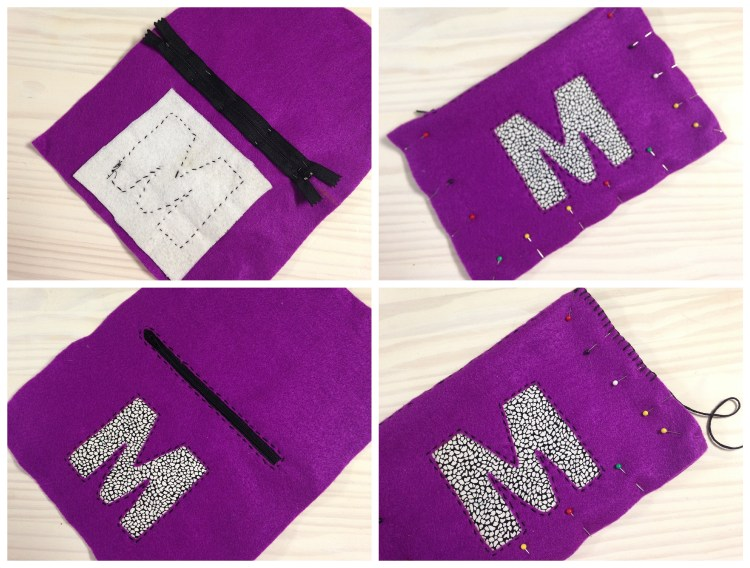 Felt Crafts | Felt Crafts DIY | Felt Crafts How To Make | Felt Pouch | Felt Pouch DIY | Felt Project Ideas | Felt Craft Project | Gift Ideas | Gift Ideas DIY | Gift Ideas Homemade | Looking for a great gift idea for family and friends that can include a personalized touch? This easy tutorial shows you how to make this cute personalized felt pouch that everyone would love to receive! #giftideas #feltcraft #sixcleversisters