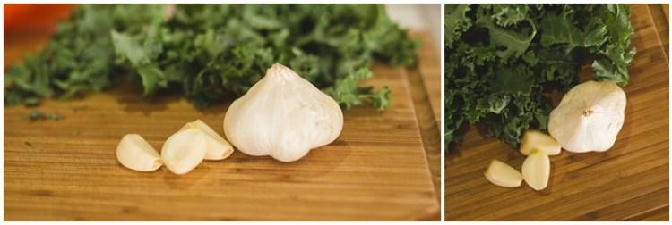Simple Garlic-Infused Kale Salad