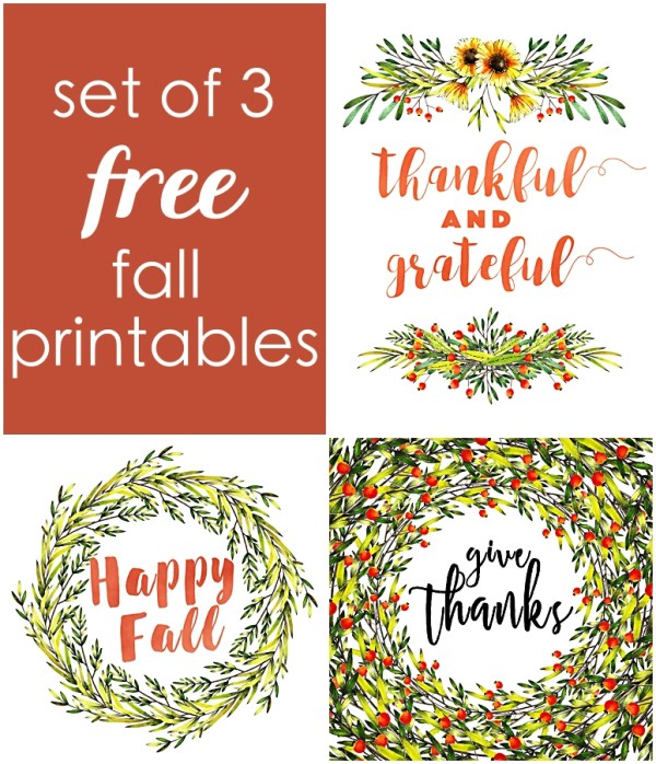 fall printables free | happy fall free printables | autumn free printables | fall decor free printables | fall printables decor | fall printables home decor | fall printables pdf | give thanks | happy fall | thankful and grateful