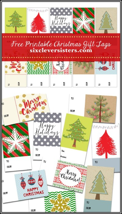 Christmas Gift Tags #free #printable #christmas #gift