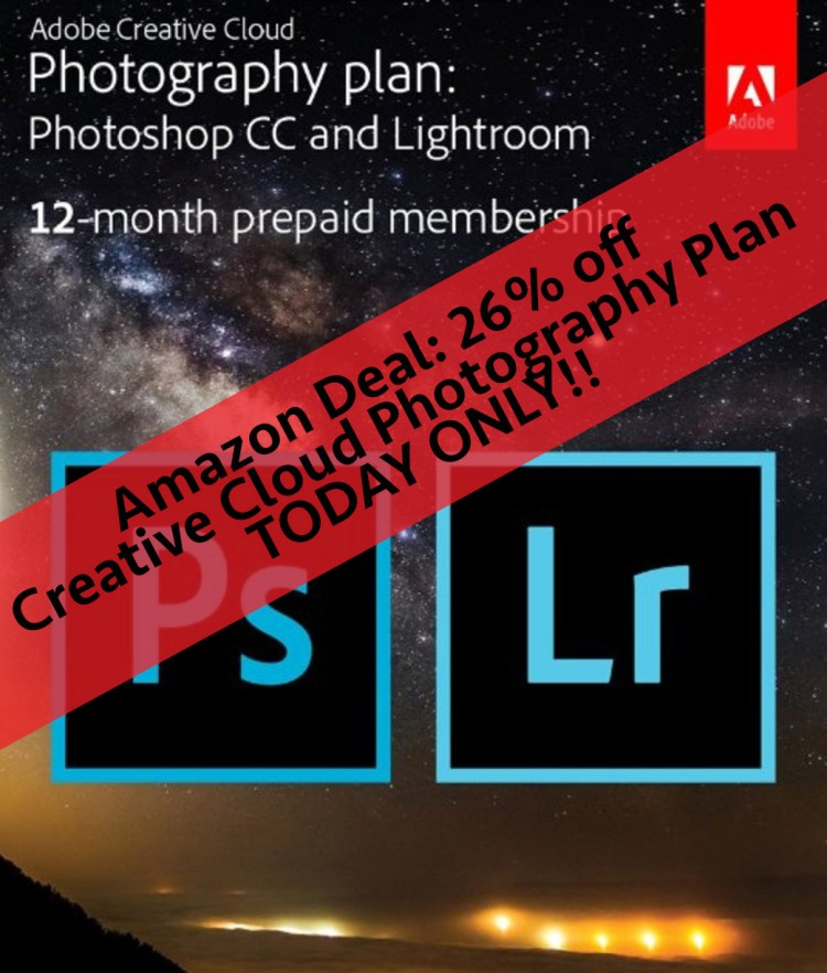 Creative Cloud Amazon deal