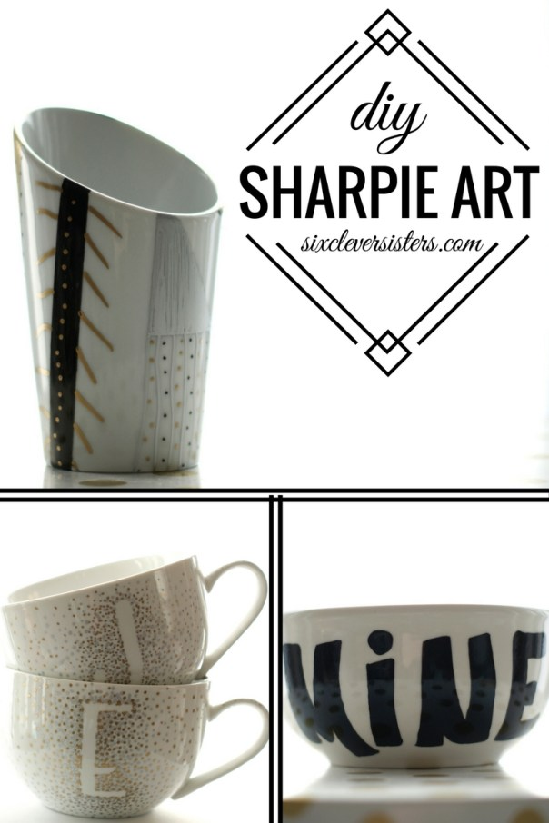DIY Project | Sharpie Art | Homemade Gift Ideas | Cute Thing to Do with Sharpies