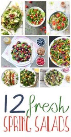 spring salad recipes fresh roundup
