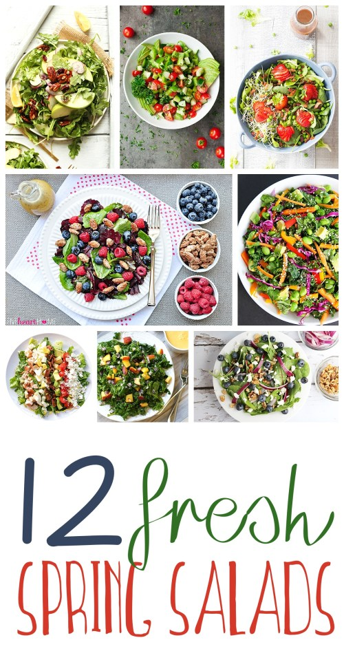 spring salad recipes fresh roundup