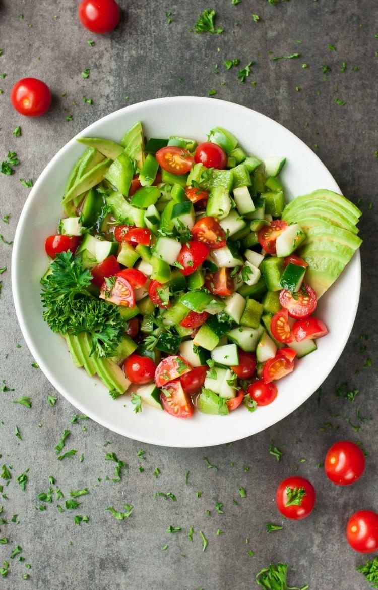 fresh tomato avocado salad recipe Spring Salad Recipes | Healthy Recipes | Salad Recipes | Strawberry Spinach Salad | Best Salad Recipe | Vegan Recipes | Healthy Recipes | Healthy Meals | Salad Ideas | Easter Recipe Ideas | Easter Ideas