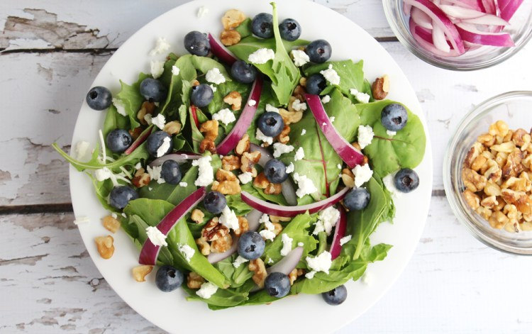 blueberry best salad ever