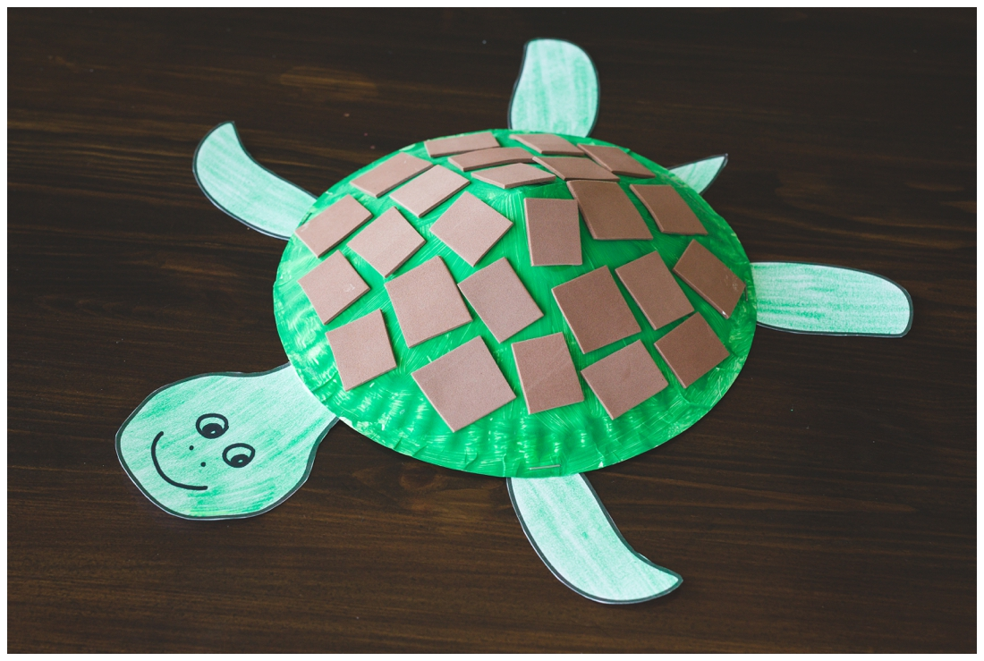 Paper Plate Turtle Craft For Kids Free Printable Template Six