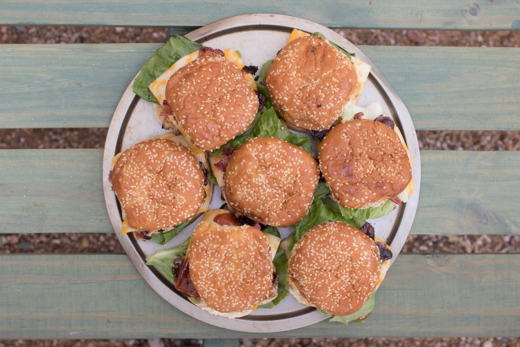Copycat Chick Fil A Grilled Chicken Recipe | Smokehouse BBQ Bacon Sandwich | Copycat Chick Fil A Recipes | Summer Food | Picnic BBQ Food | Grilled Chicken Recipe | Chicken Sandwich Recipe | Labor Day Party Food | This sandwich tastes just like Chick fil A's Smokehouse BBQ Bacon Sandiwch! You can make it at home anytime with this recipe . . . check it out at SixCleverSisters.com
