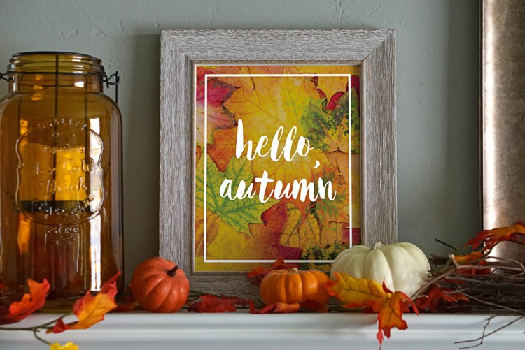 4 Ways to Transform Your Home This Fall | Transform Your Home | How to Decorate for Fall | How to Decorate for Fall on a Budget | How to Decorate for Fall DIY | 4 tips for transforming your home for fall are on the Six Clever Sisters blog!