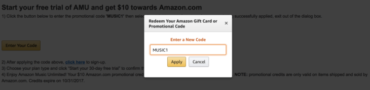 Amazon Music | Free Trial | Amazon Music Unlimited | Free Amazon Credit
