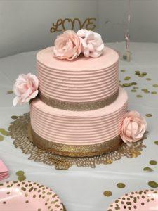 bridal shower wedding shower bridal inspo shower blush pink gold