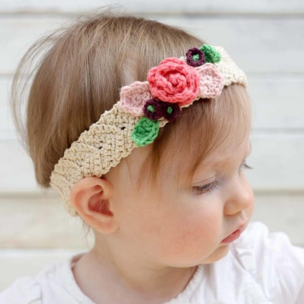 12 Adorable Baby Girl Headbands YOU can make! | DIY Baby | Baby Girl | Newborn | Headband | Baby Girl Nursery | Baby Girl Outfits | Baby Girl Clothes | Baby Headbands DIY | Headbands and Bows | How To Make Headbands | A Collection of 12 Tutorials on Six Clever Sisters!