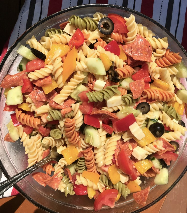 Simple Summer Pasta Salad Six Clever Sisters