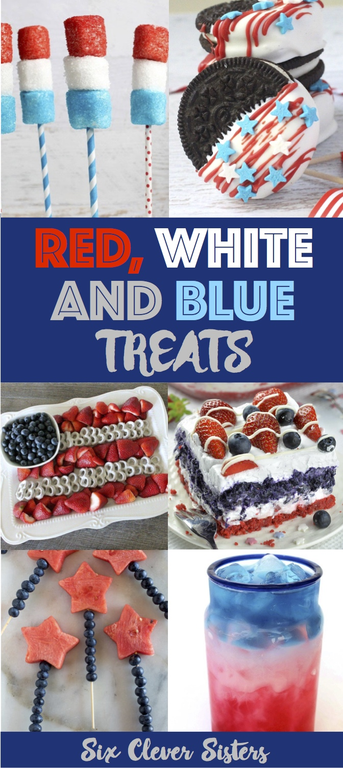Red White And Blue Treats Six Clever Sisters