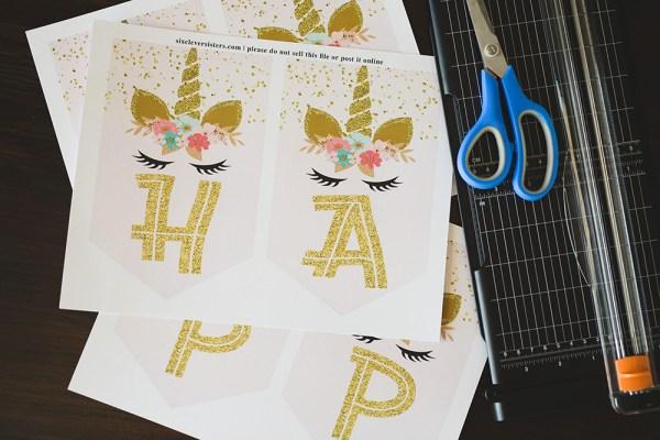 Unicorn Birthday Banner | Unicorn Banner | Unicorn Banner DIY | Unicorn Birthday Banner DIY | Unicorn Banner Printable | Unicorn Banner Free | Unicorn Banner Printable | Unicorn Banner Free Printable | Unicorn Party Banner Printable | Unicorn Birthday Banner Free Printable #unicorn #unicornparty #unicornbirthday