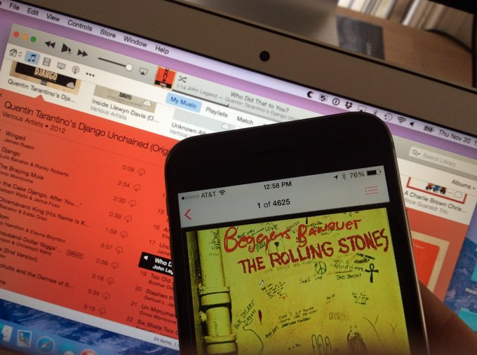 Music and iTunes